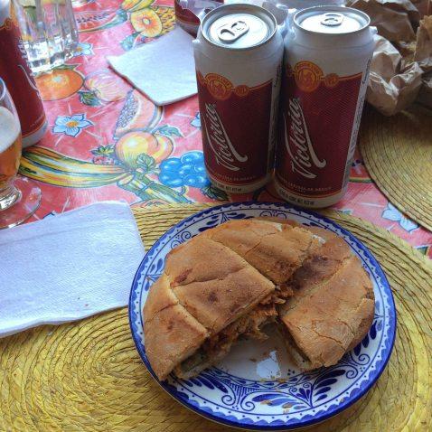 """""""Oaxaca Hormiga sandwich"""""""