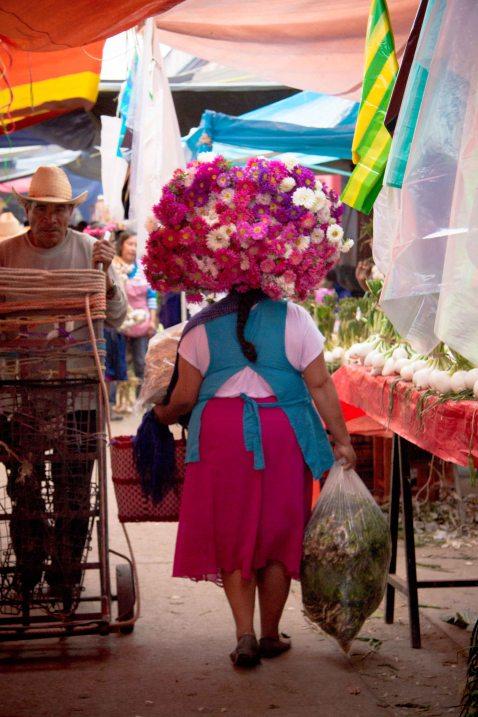 Oaxaca Ocotlan flowers