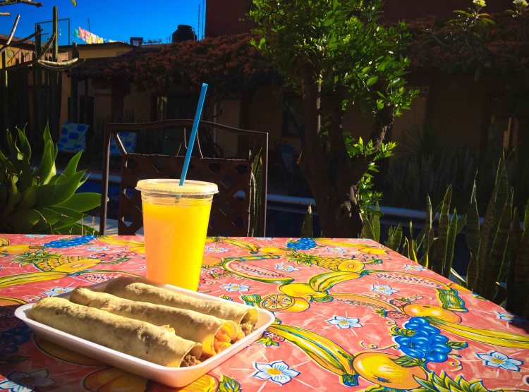 A breakfast of trunk tacos and orange juice all for under $5. Definitely one of the reasons why I love Oaxaca.