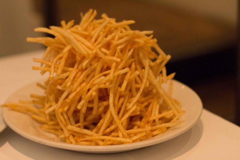 """""""SFO Zuni Cafe shoestring fries"""""""