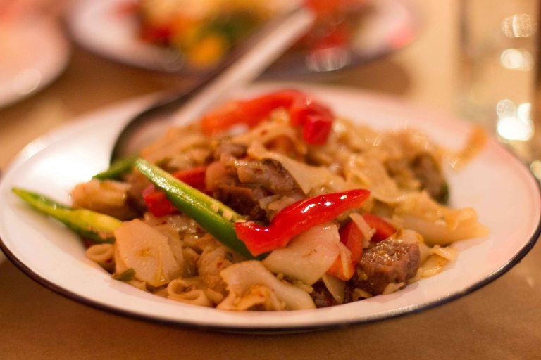 """Night Market LA rice noodles"""