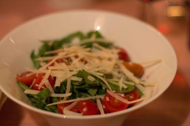 Arugula salad with Pachino tomatoes