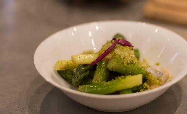 """""""L'Avant Comptoir Paris asparagus"""""""