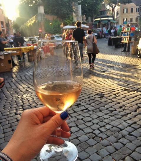 Rome Enoteca Ferrara outside