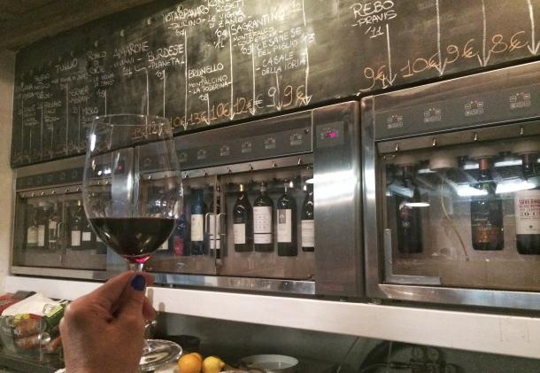 Rome Enoteca Ferrara wines