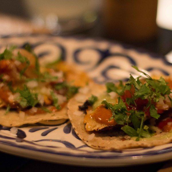 """Empellon Cocina Stupak reverse al pastor taco"""