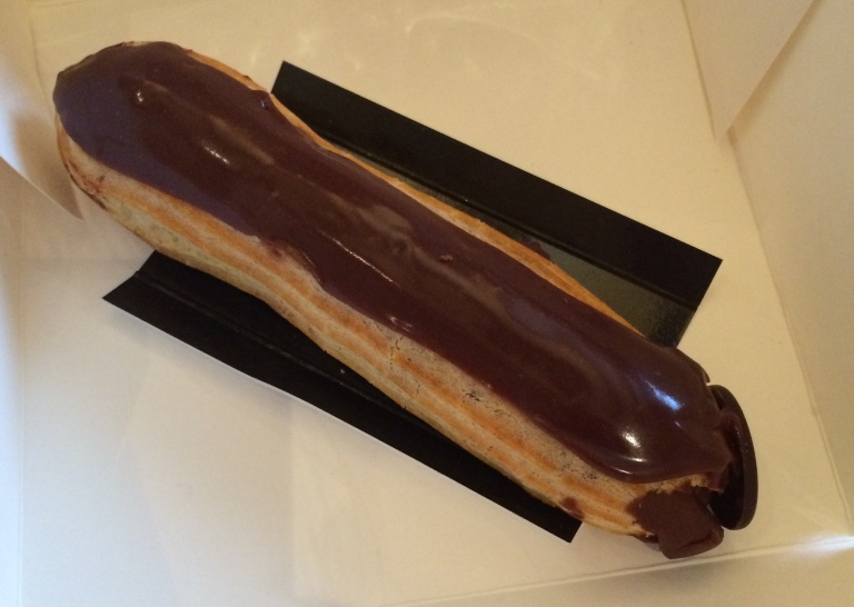 Chocolate eclair from Eric Kayser.