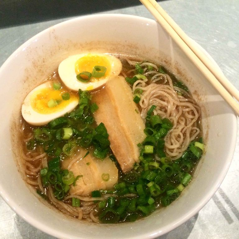 """Ivan Ramen Slurp shop shio egg"""