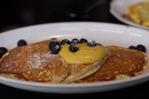 """""""Locanda Verde New York ricotta pancake"""""""