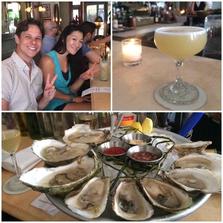 """Maison Premier Brooklyn oysters"""