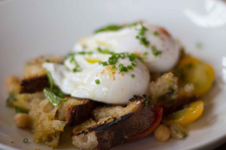 """Reynards Brooklyn poached egg"""