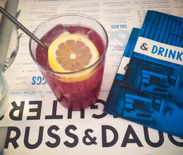 """Russ Daughters Cafe soda"""