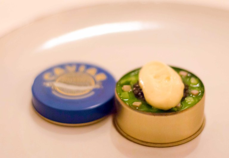 """Eleven Madison Park caviar"""