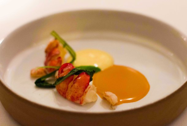 """Eleven Madison Park lobster"""