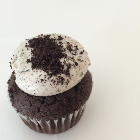 Cookies and cream cupcake from Empire Cakes.