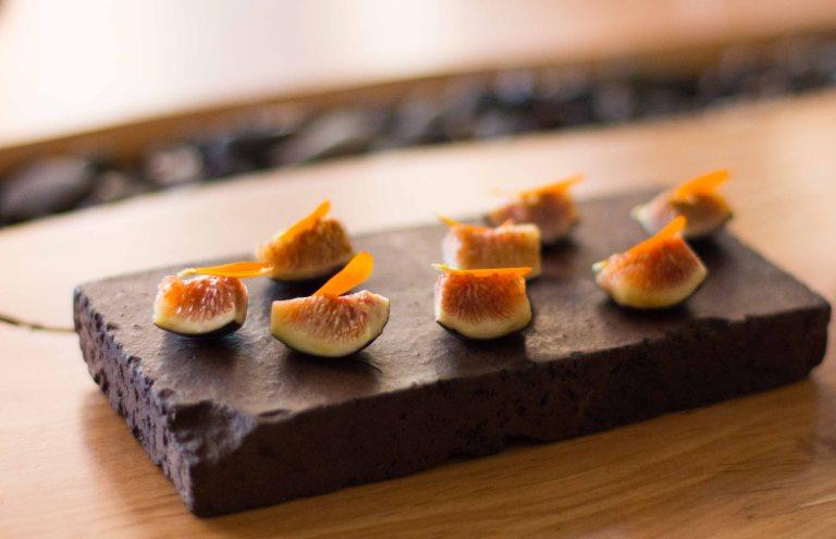 """""""Willows Inn Lummi breakfast figs"""""""