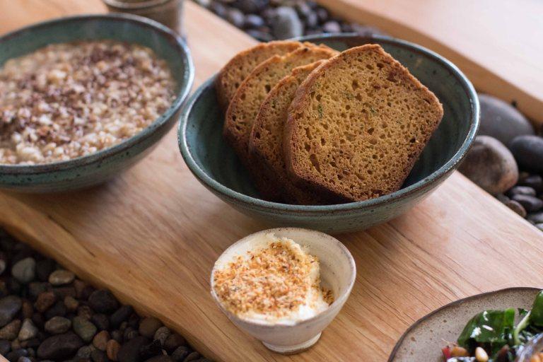 """Willows Inn Lummi breakfast loaf"""""""