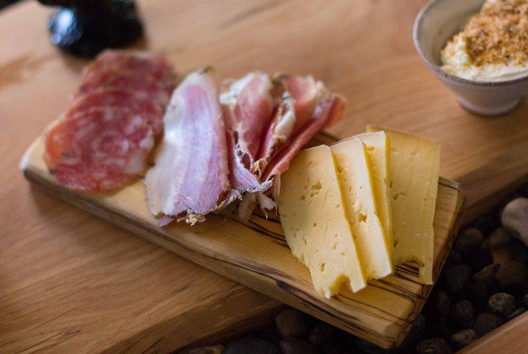 """""""Willows Inn Lummi breakfast meat cheese"""""""