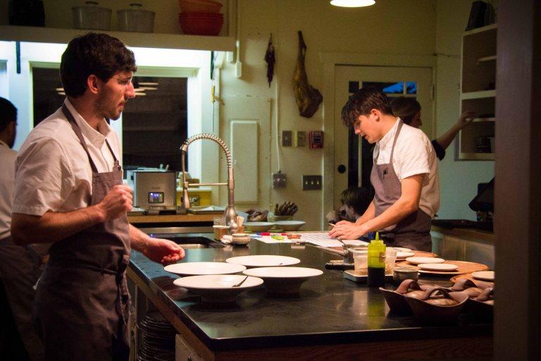 Willows Inn Lummi kitchen Wetzel