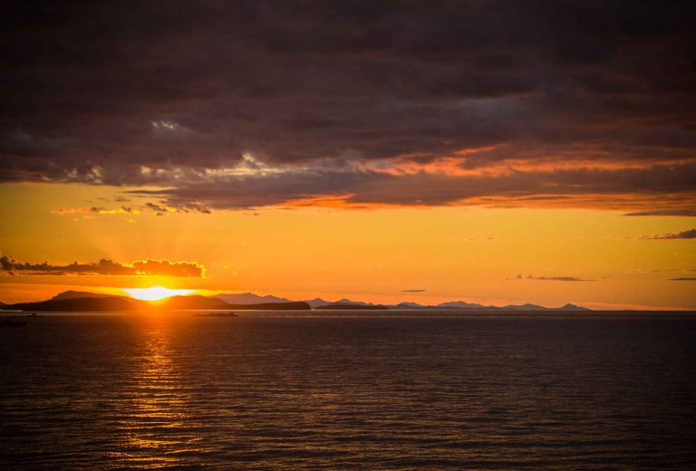 """Willows Inn Lummi sunset"""