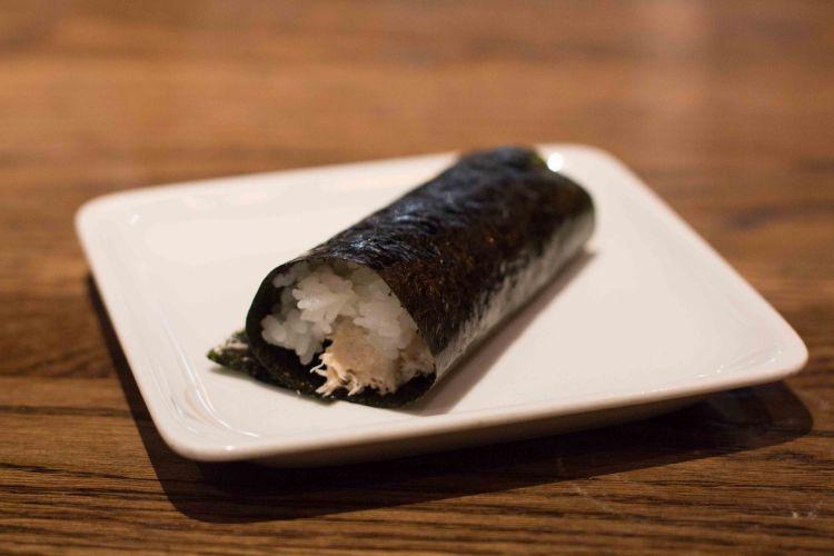 """""""Sugarfish Beverly Hills Nozawa crab roll"""""""