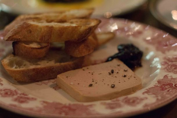 """Terrine Morningstar LA foie gras"""