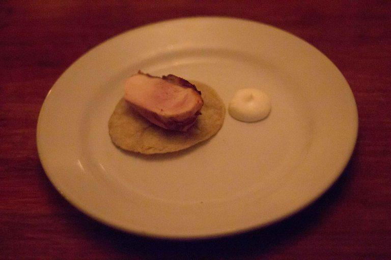 """""""El Destilado Oaxaca smoked chicken"""""""
