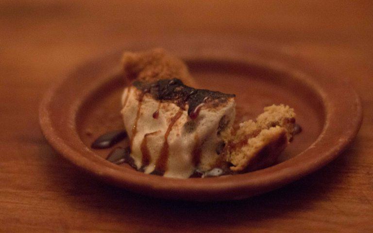 """el destilado Oaxaca sponge cake"""