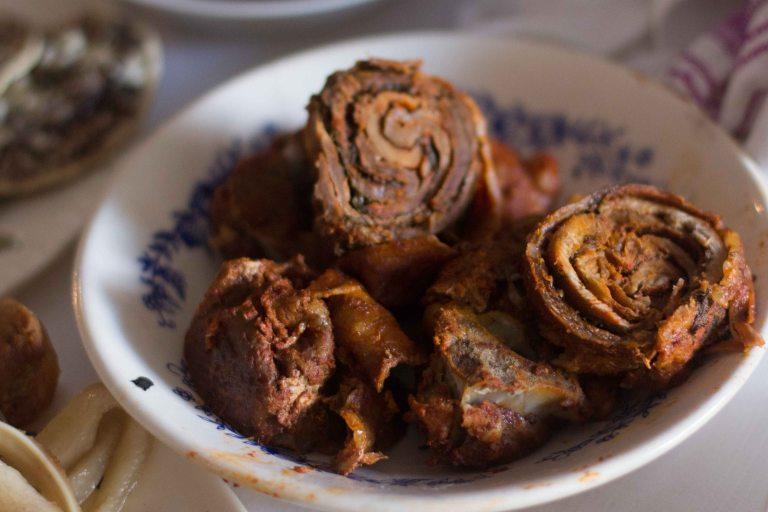 Oaxaca El Mangalito adobo pork