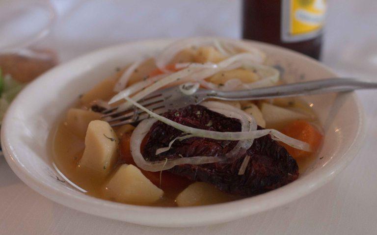 Oaxaca El Mangalito Zaachila potatoes