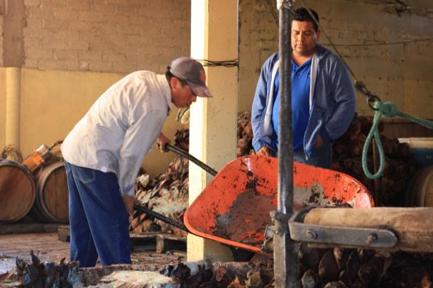 """Wahaka mezcal Oaxaca production Beto Morales Mendez"""