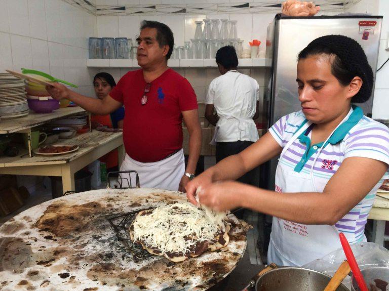 Oaxaca Merced Fonda Florecita