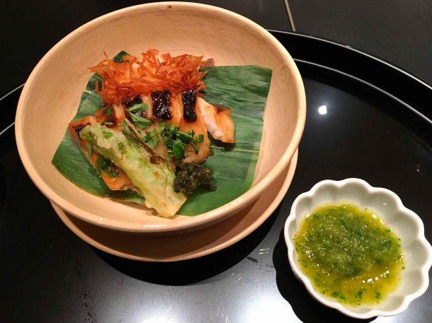 Hana Kitcho Kyoto fish sakana