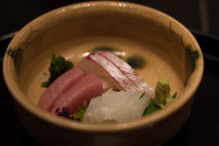 Hana Kitcho Kyoto sashimi