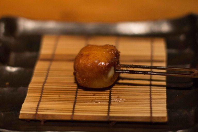 """""""Kushi Tanaka Kyoto bread crab"""""""