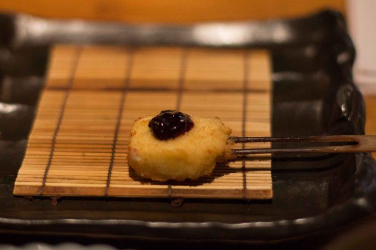 """""""Kushi Tanaka Kyoto cheese blueberry jam"""""""