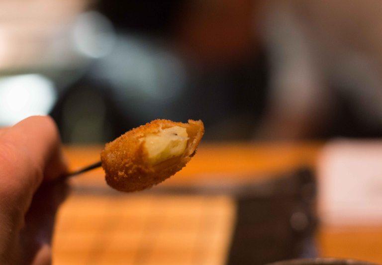 Kushi Tanaka Kyoto ringo