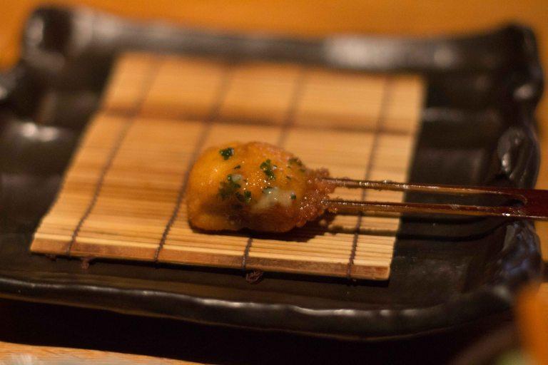 """Kushi Tanaka Kyoto mushroom butter"""