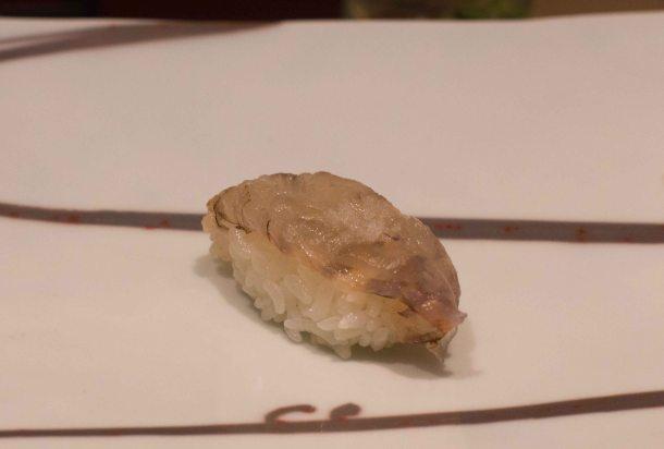 Kyube Tokyo Ginza sushi ebi