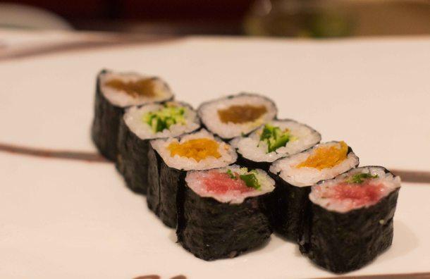 Kyubei Tokyo Ginza hosomaki sushi