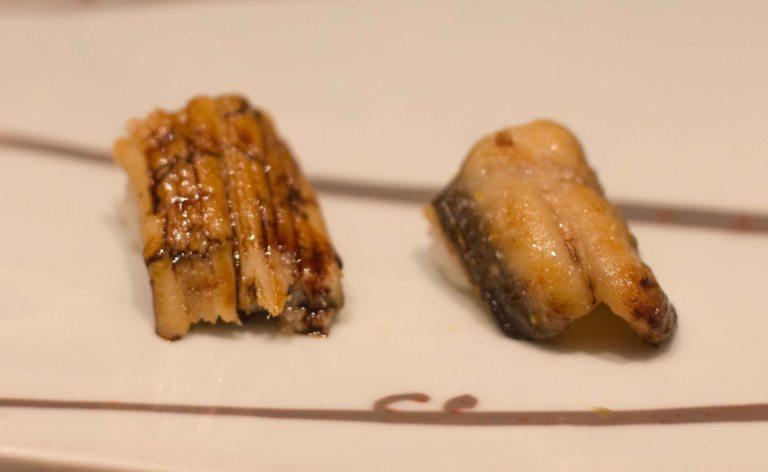 Kyubei Tokyo Ginza sushi anago