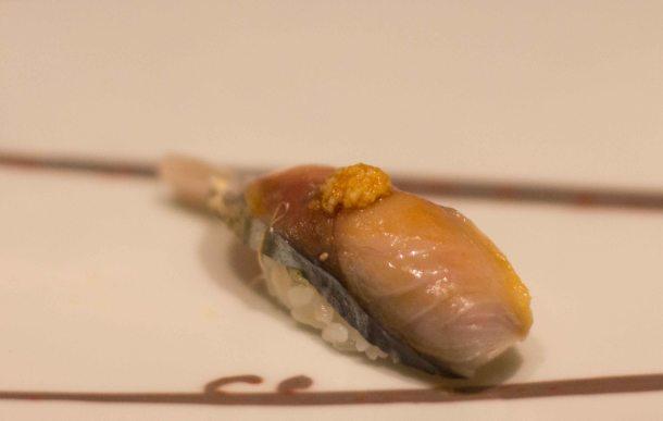 Kyubei Tokyo Ginza sushi saba