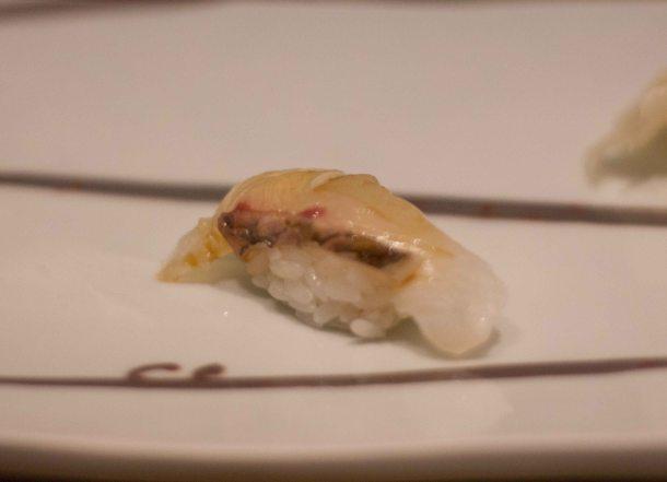 Kyubey Tokyo Ginza sushi sea bream
