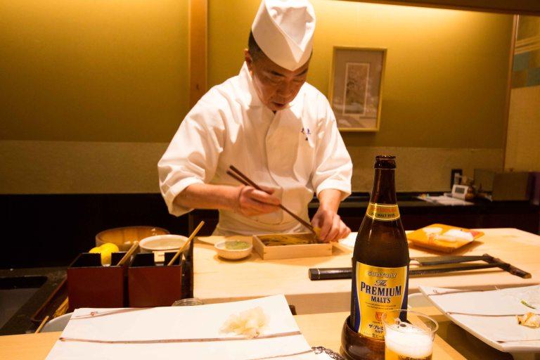 Kyubey Tokyo Ginza sushi uni