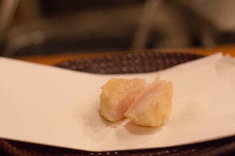 """""""tempura yoshikawa kyoto hotate scallop"""""""