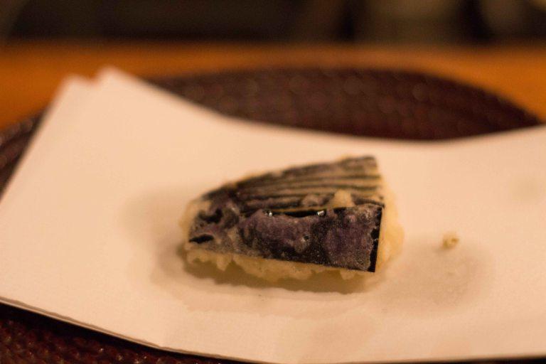 """""""tempura yoshikawa kyoto eggplant nasu"""""""