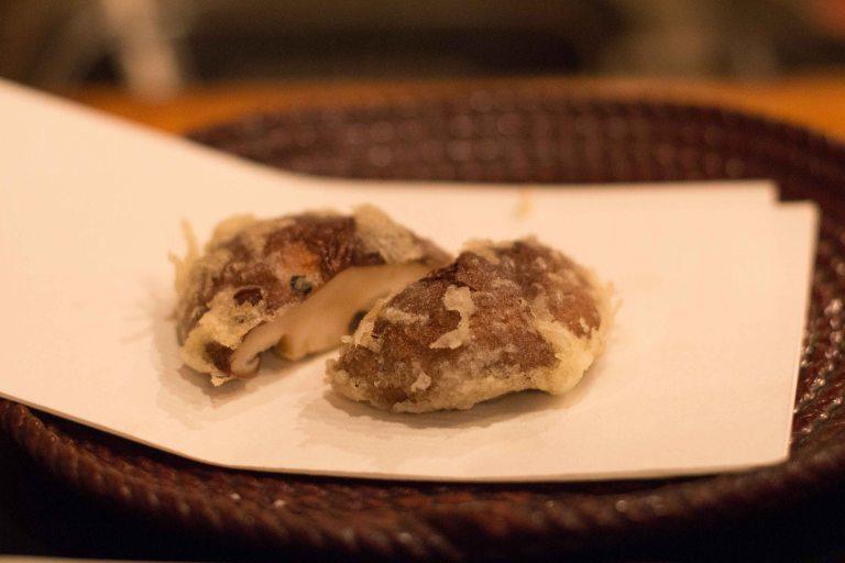 """""""tempura yoshikawa kyoto shiitake"""""""
