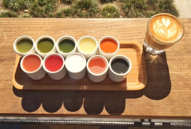 Verve coffee juice sampler.jpg
