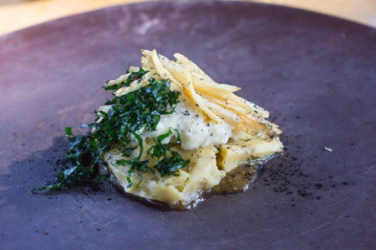 Criollo Oaxaca potato tamal