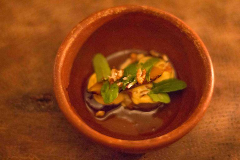 El Destilado Oaxaca ensalada